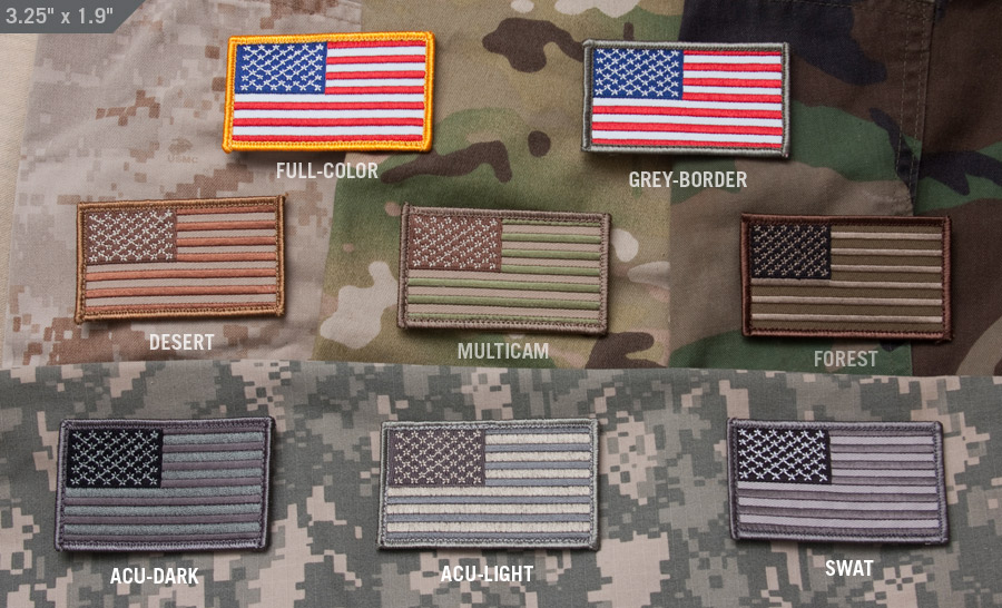 Us Flag Patch Tactical Kit